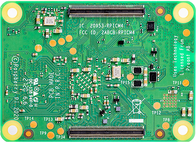pi-cube internal board back
