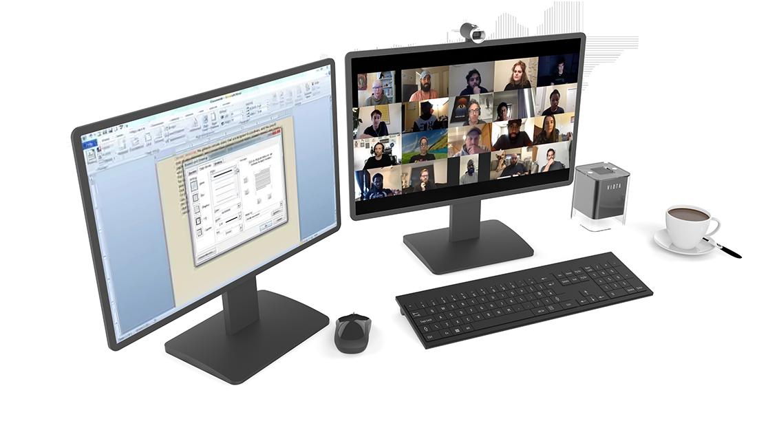 pi-cube desktop configuration
